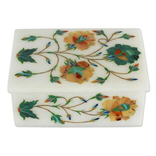 Check Prices Floral Trio Jewelry Box By Bloomsbury Market