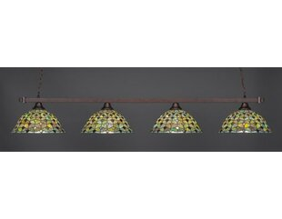 Bierce 4-Light Billiard Pendant by Red Barrel Studio