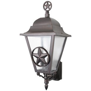 Bargain Penfield 3-Light Outdoor Sconce By Alcott Hill
