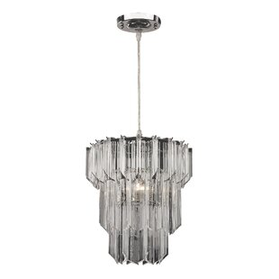 Low priced Kearse 1-Light Pendant By Ophelia & Co.