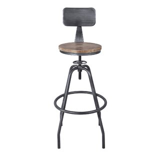 Gilliam Adjustable Height Bar Stool Williston Forge