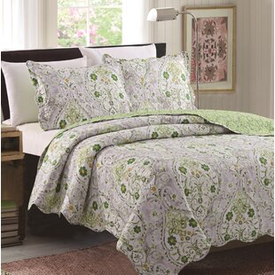 Honn 3 Piece Reversible Quilt Set
