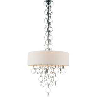 CWI Lighting Chained 6-Light Chandelier