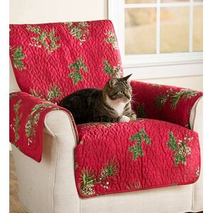 Pet Peaceful Pine Loveseat Slipcover by Plow & Hearth