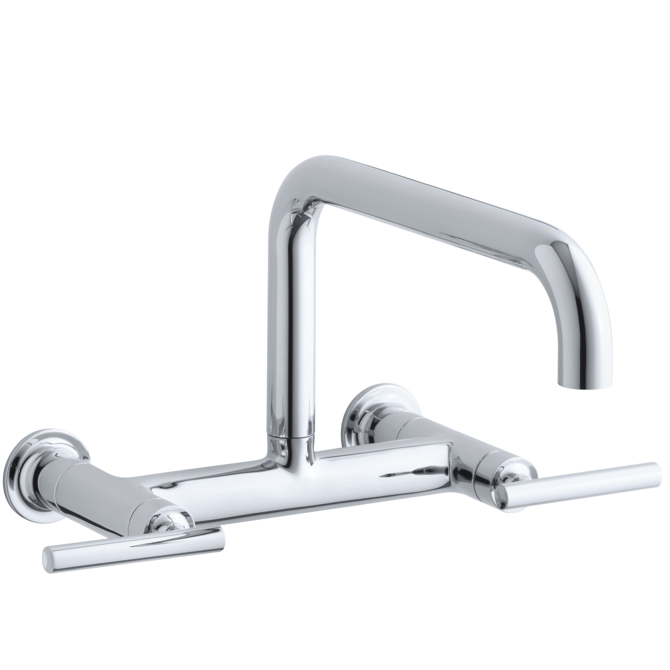 spout handles faucets lever side garden faucet shipping sprayer high victorian today home overstock with free bridge kitchen product