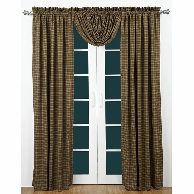 Cedar Hills Drapes from The Cabin Shop!