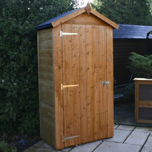 4 Ft. W X 2 Ft. D Solid Wood Horizontal Garden Shed By WFX Utility