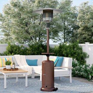 Glendale 48,000 BTU Propane Patio Heater By Sol 72 Outdoor
