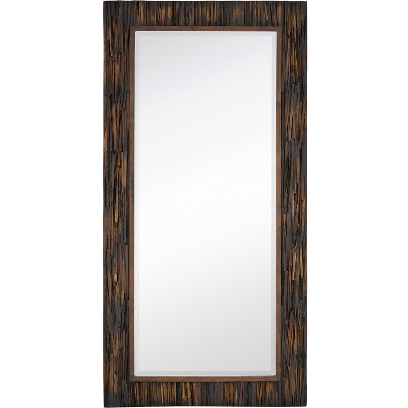 Majestic Mirror Large-scale Natural Accent Mirror | Wayfair