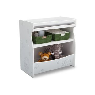 2-in-1 Changing Table with Storage Unit By Delta Children