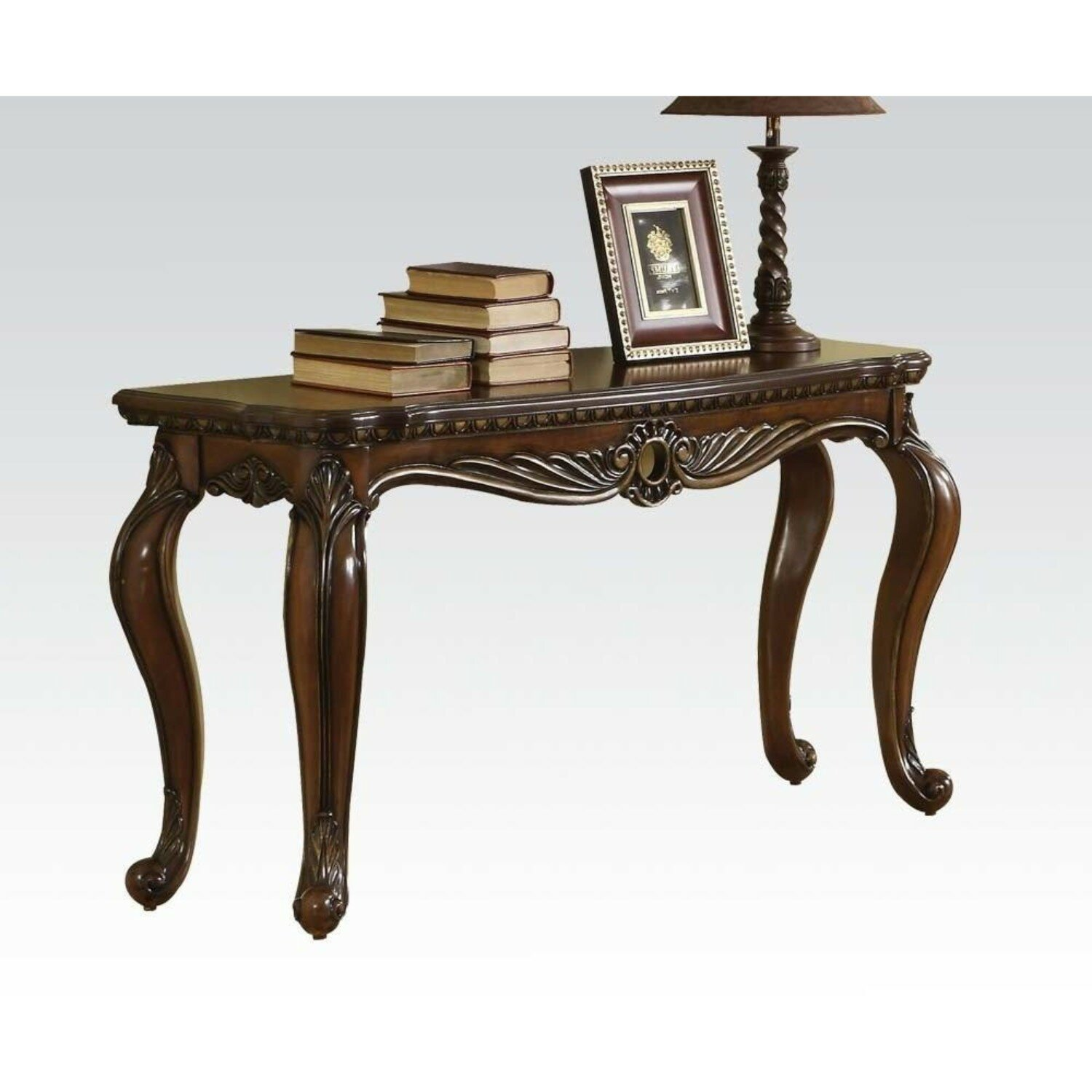 sports shoes 718bc e5282 Tunnell Wood and Poly Resin Console Table