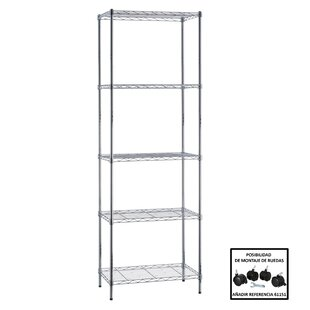 Bathroom 181cm 5 Shelf Shelving Unit
