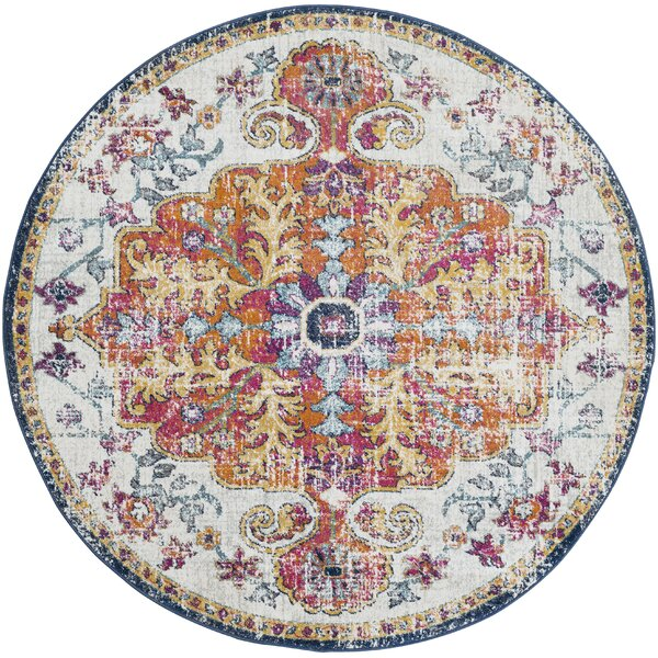 Farmhouse Rustic Round Rugs Birch Lane