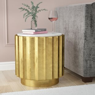 Jayne End Table by Everly Quinn