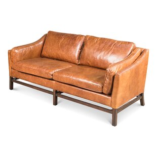 Where buy  Ayla Leather Sofa by 17 Stories Reviews (2019) & Buyer's Guide