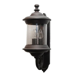 Affordable Phillipstown 3-Light Outdoor Sconce By Alcott Hill