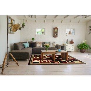 Big Save Mcfee Rectangle Red Area Rug By Orren Ellis