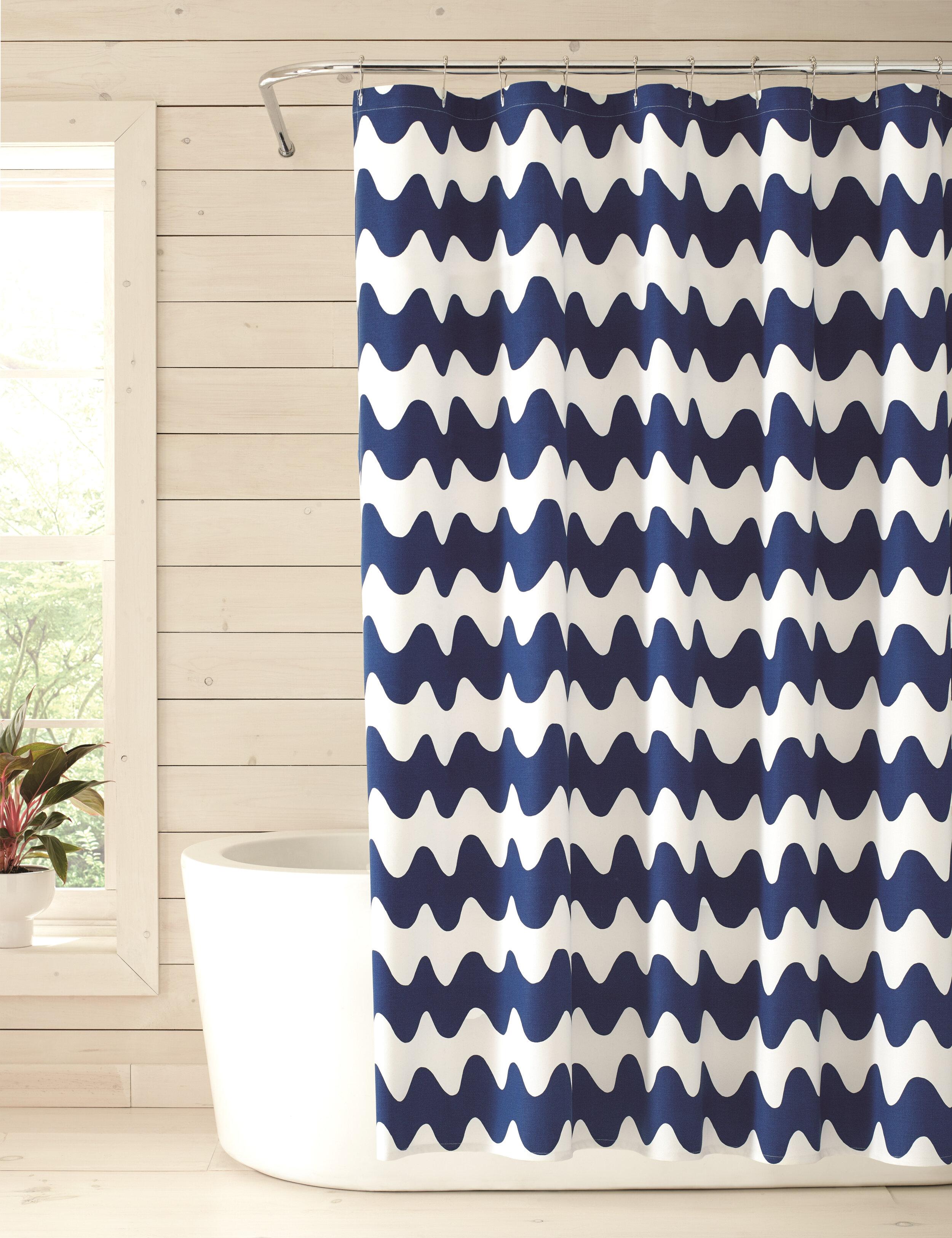 Pikku Lokki 100 Cotton Single Shower Curtain