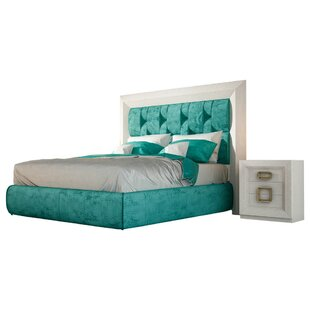 Dela Panel 4 Piece Bedroom Set