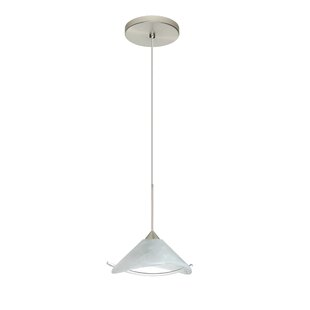 Hoppi 1 Integrated Bulb Mini Pendant by Besa Lighting