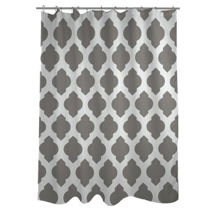 All Over Moroccan Single Shower Curtain