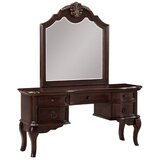 Ziggy Vanity with Mirror by Astoria Grand