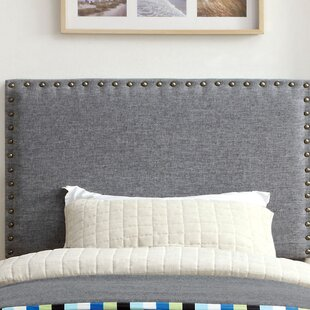 Reviews Rosinski Upholstered Panel Headboard by Mercer41