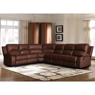 Shop Kelleys Island Classic Reclining Sectional by Red Barrel Studio