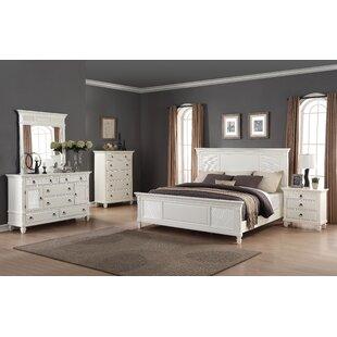 Roundhill Furniture Regitina King Platform Configurable Bedroom Set