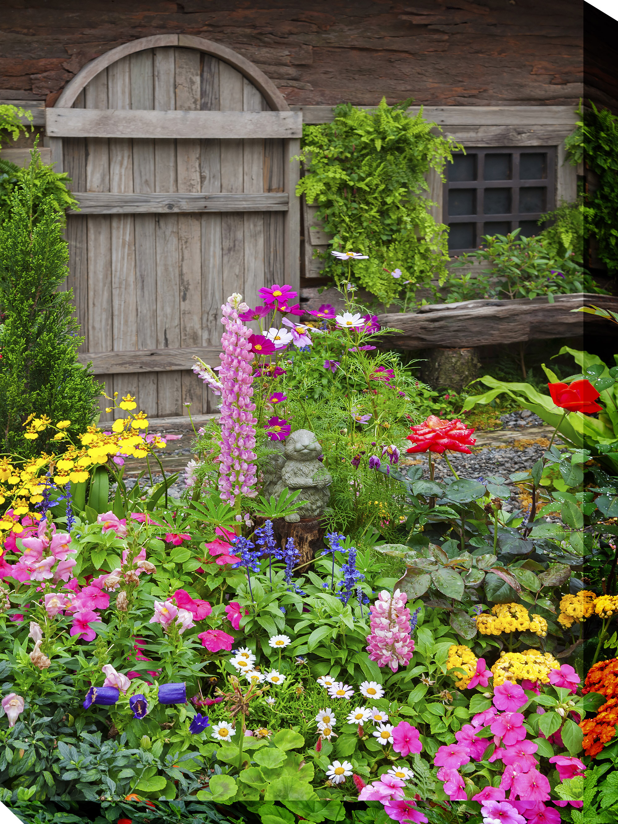 Fleur De Lis Living Rustic Garden Wayfair