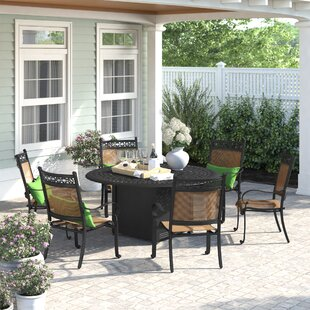 Curacao 7 Piece Dining Set