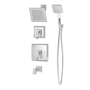 Best Oxford Pressure Balance Tub and Shower System with Lever Handle By Symmons