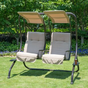 Morrilton Porch Swing with Stand