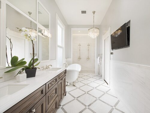 Modern Farmhouse Bathroom Design Ideas Joss Main