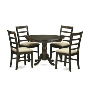 August Grove Travis 5 Piece Dining Set