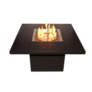 The Outdoor Plus Bella Steel Fire Pit Table
