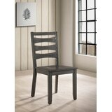 Poitra Solid Wood Dining Chair (Set of 2) by Bloomsbury Market