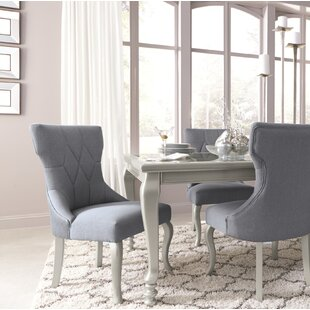 Guillaume Upholstered Dining Chair (Set of 2) Willa Arlo Interiors