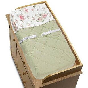 Looking for Riley's Roses Changing Pad Cover BySweet Jojo Designs