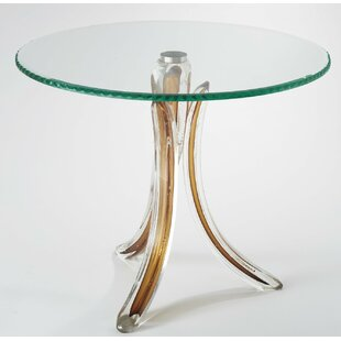 Affordable Glass End Table by Global Views