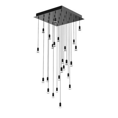 Seraph Cluster Pendant Blackjack Lighting Finish: Matte Black