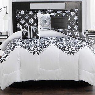 Style Decor Aly 7 Piece Reversible Comforter Set