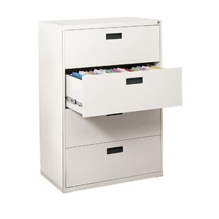 Sandusky Cabinets 400 Series 4-Drawer Lateral Filing Cabinet