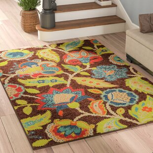 Order Gilson Brown Indoor/Outdoor Area Rug Good purchase