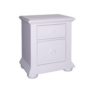 Dickens 2 Drawer Nightstand by Beachcrest Home #1