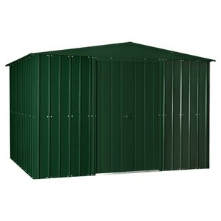 Huang 10 Ft. W X 8 Ft. D Apex Metal Shed By Sol 72 Outdoor