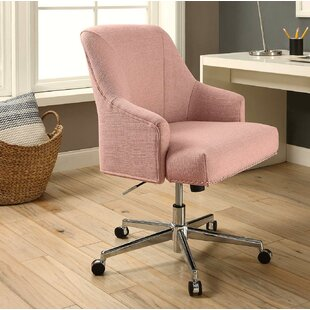 Pink Swivel Desk Chairs Youll Love Wayfair