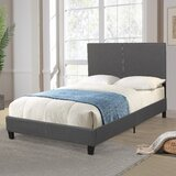 Aleeha Upholstered Platform Bed by Latitude Run