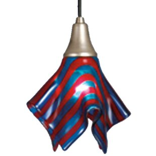 Meyda Tiffany Metro Fusion Satrial's Dream Handkerchief 1-Light Novelty Pendant