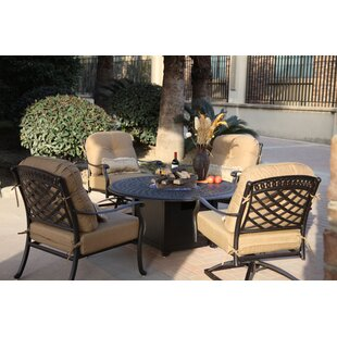 Thompson 5 Piece Conversation Set with Cushions